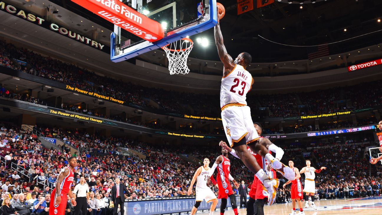 LeBron James of Cleveland Cavaliers became youngest in NBA ...