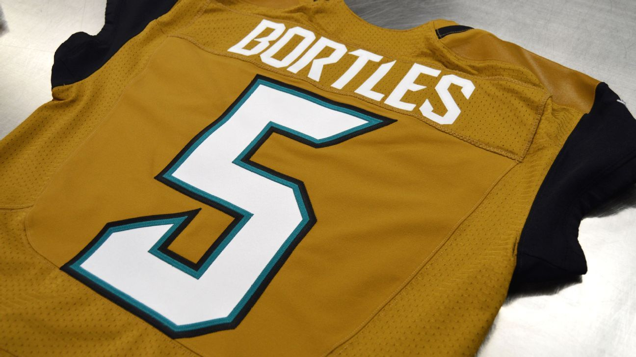 Jaguars will wear gold uniforms for Thursday night game against ...