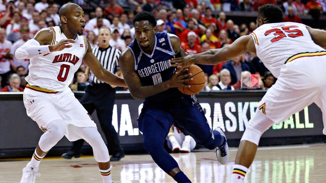 L.J. Peak of Georgetown Hoyas to enter NBA draft