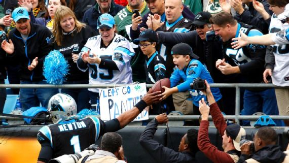 Carolina Panthers QB Cam Newton not fined for giving kids ...