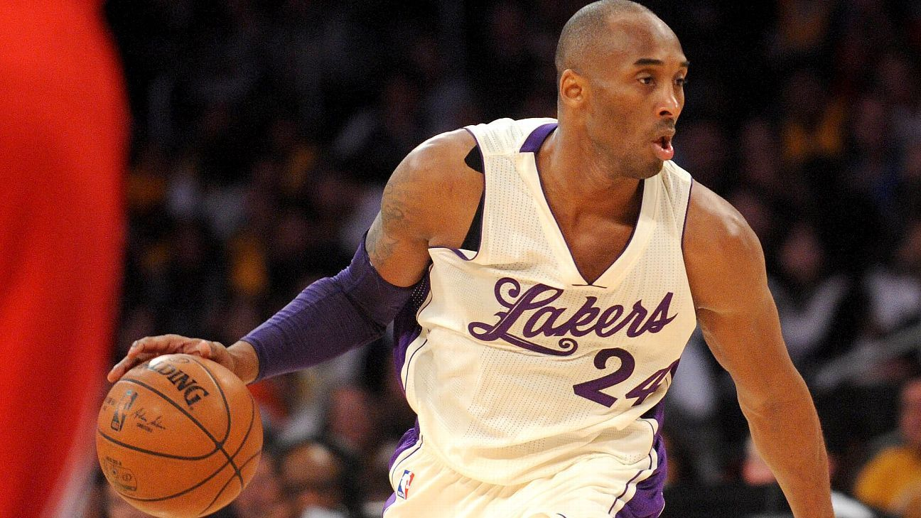 Kobe Bryant: 'Shocked doesn't do it justice' over All-Star voting lead