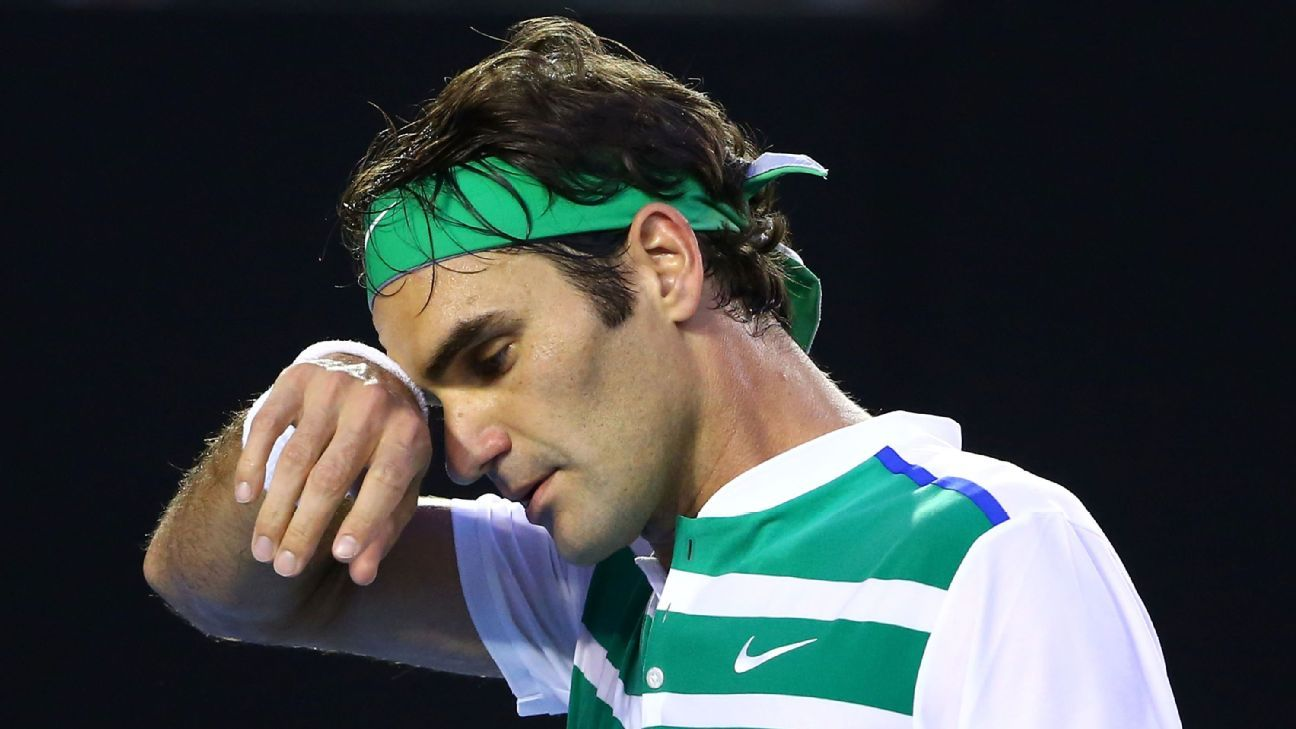 BACK INJURY OUTS FEDERER FROM MADRID MASTERS