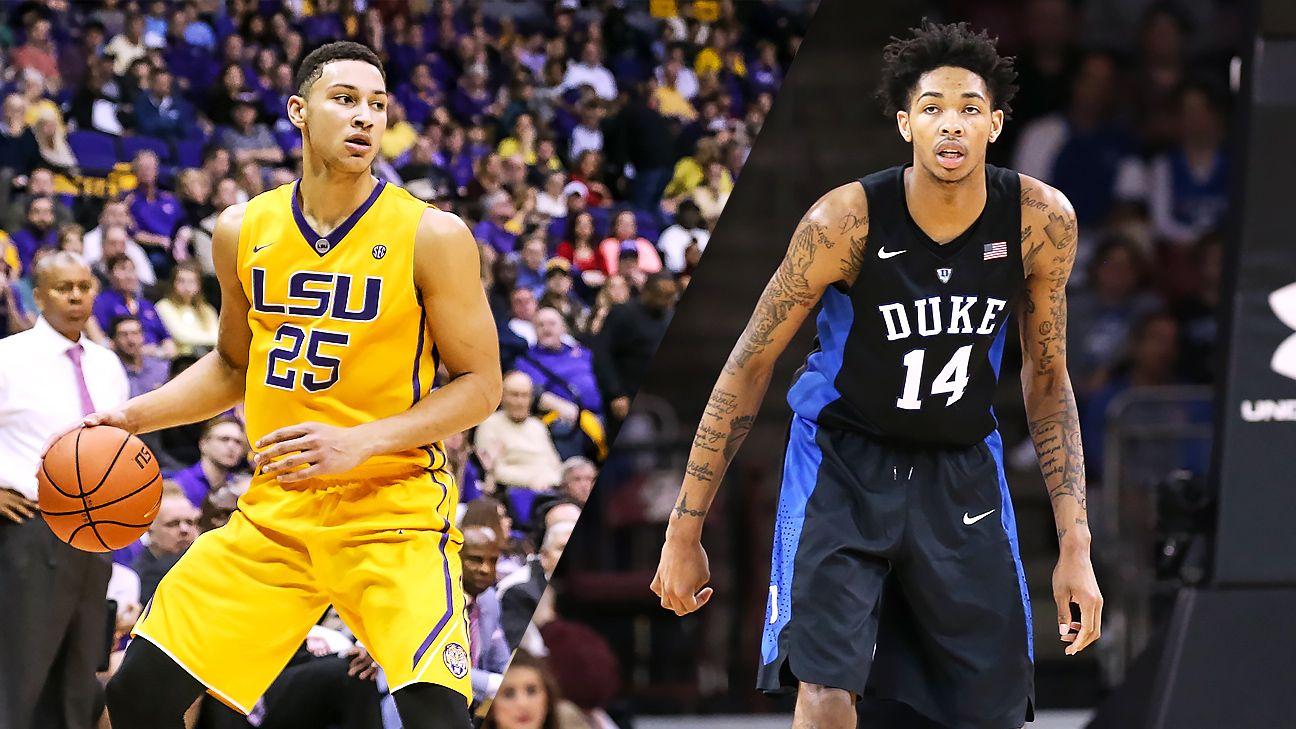 LSU's Ben Simmons or Duke' Brandon Ingram the 2016 draft's No. 1 pick? - NBA