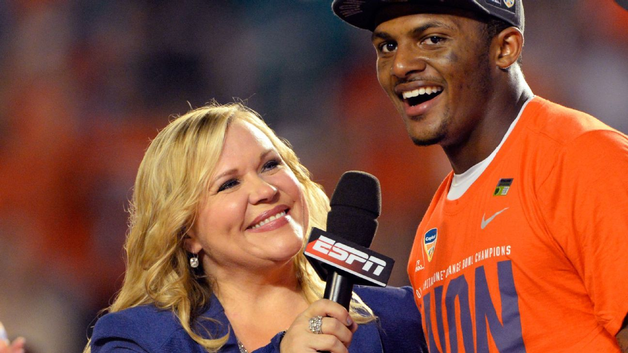 ESPN reporter Holly Rowe returns after cancer surgery