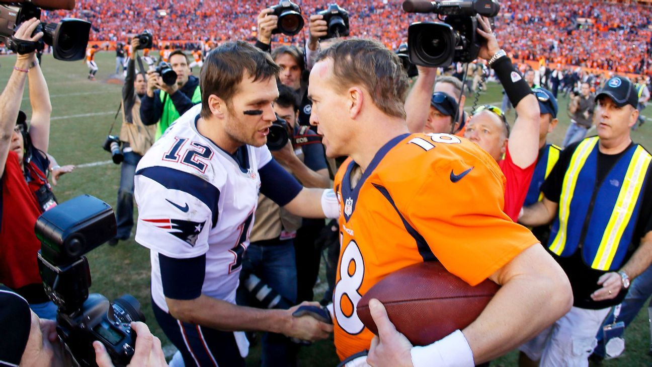 Tom brady meets with peyton manning before and after new england tom brady meets with peyton manning before and after new england patriots denver broncos game m4hsunfo