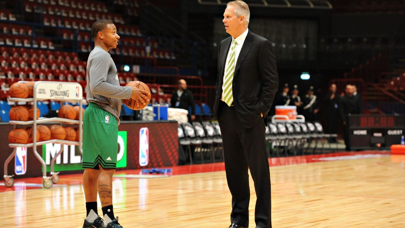 Danny Ainge on Celtics Isaiah Thomas He s been an inspiration