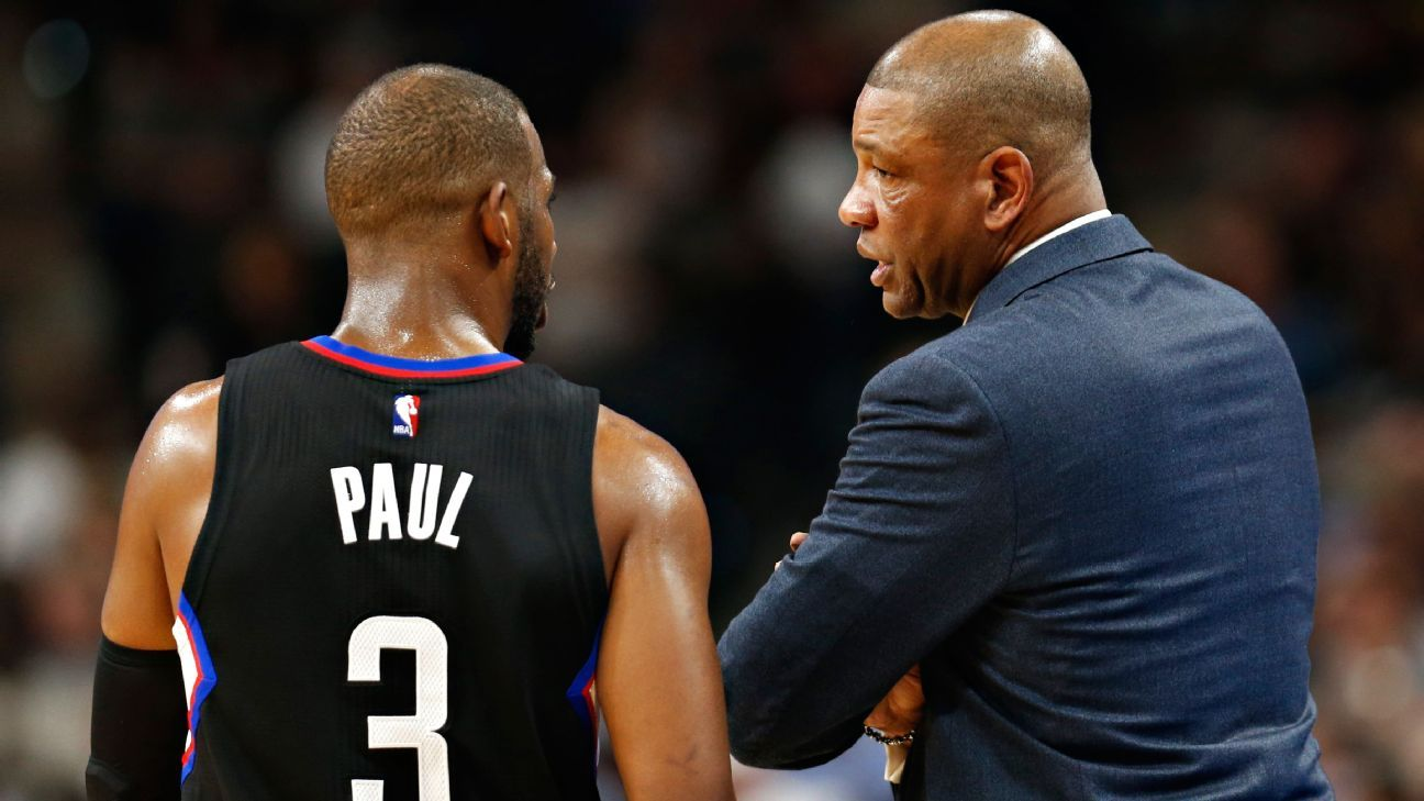 Los Angeles Clippers eyeing Friday return for Chris Paul