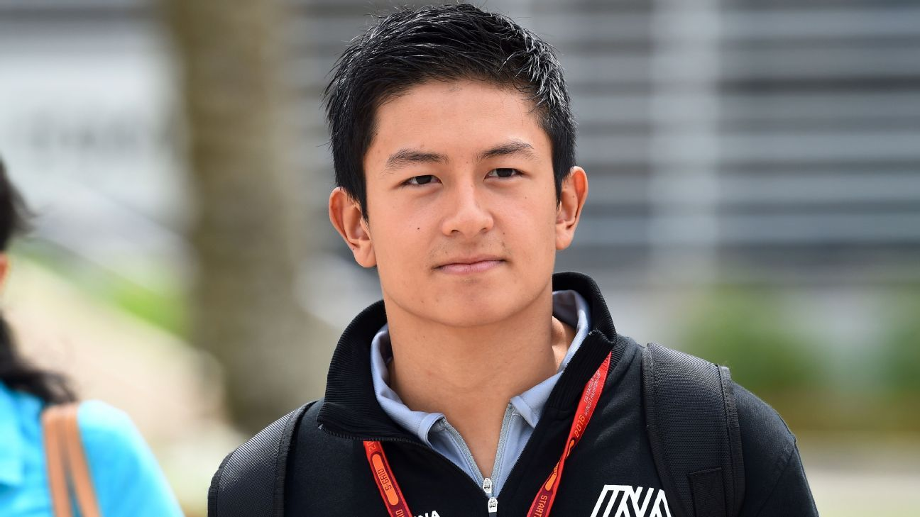 Rio Haryanto earned a  million dollar salary - leaving the net worth at 2 million in 2017