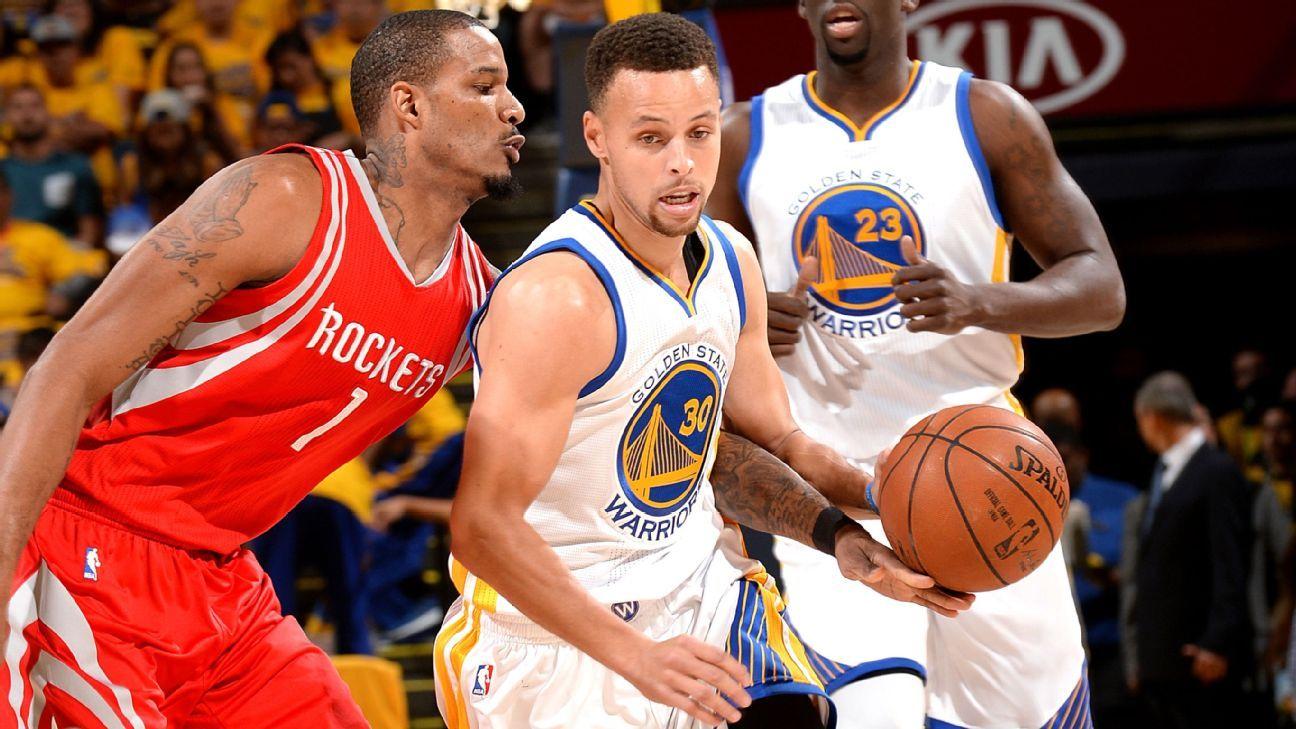 2016 NBA playoffs -- Stephen Curry of Golden State ...