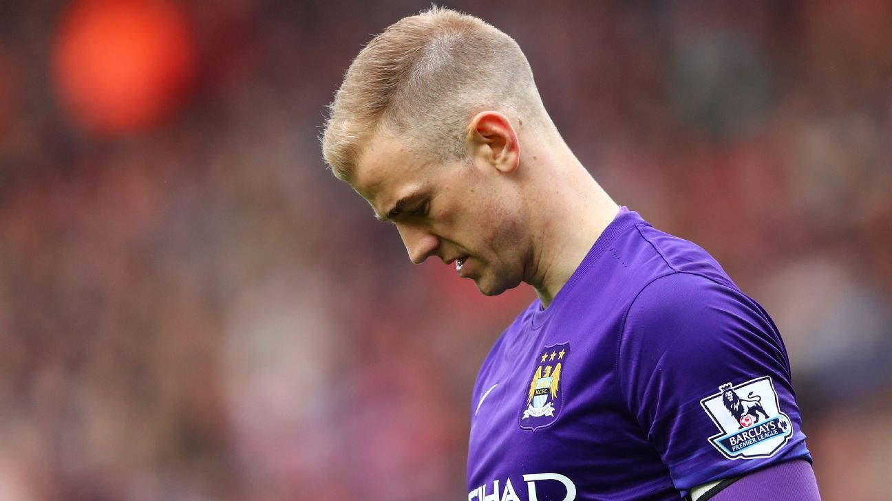 Joe Hart: Manchester City have let themselves down