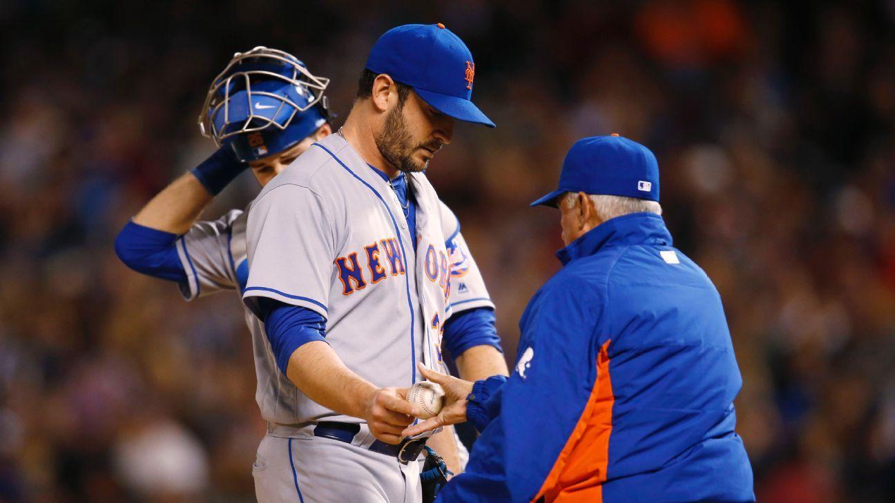 Matt Harvey stumbles, New York Mets' bats quiet in 5-2 loss - Mets Blog-  ESPN