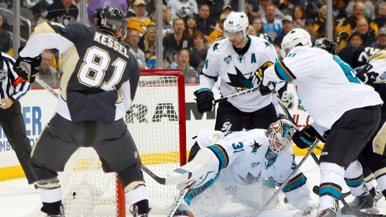 NHL Stanley Cup Playoffs Stanley Cup Finals Preview San - Map us stanley cup penguins sharks