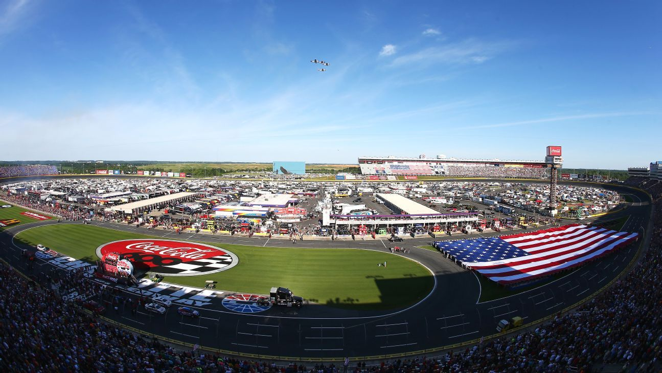 Charlotte Motor Speedway Removing More Seats