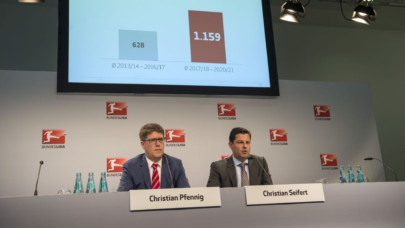 German football sees 85 percent rise in domestic tv deal - German league fixtures results table ...