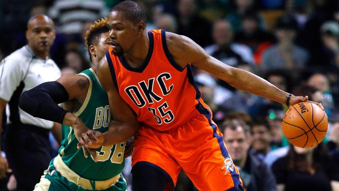 Source: Six teams booked to meet with Durant