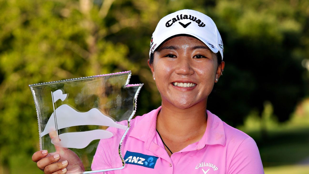No. 1 Lydia Ko cruises to 3rd title of the season at NW Arkansas
