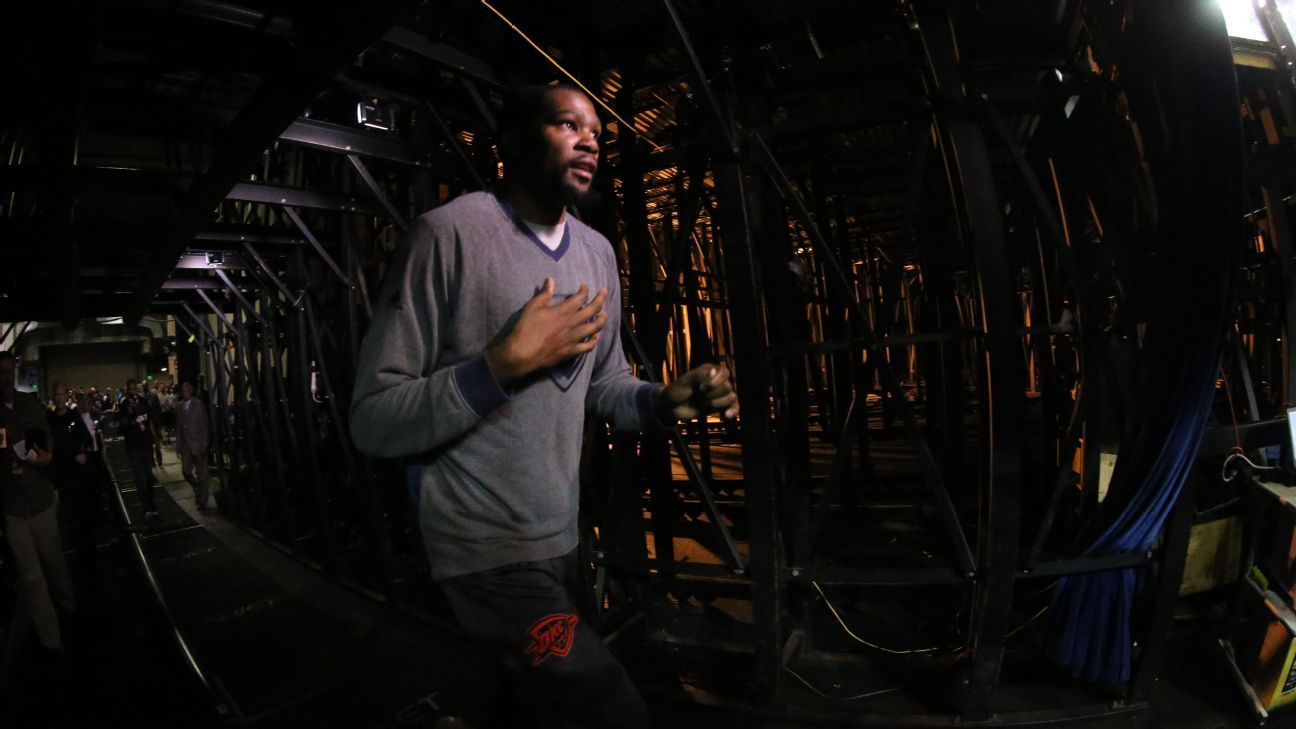 Loyalty and OKC: What changed Durant