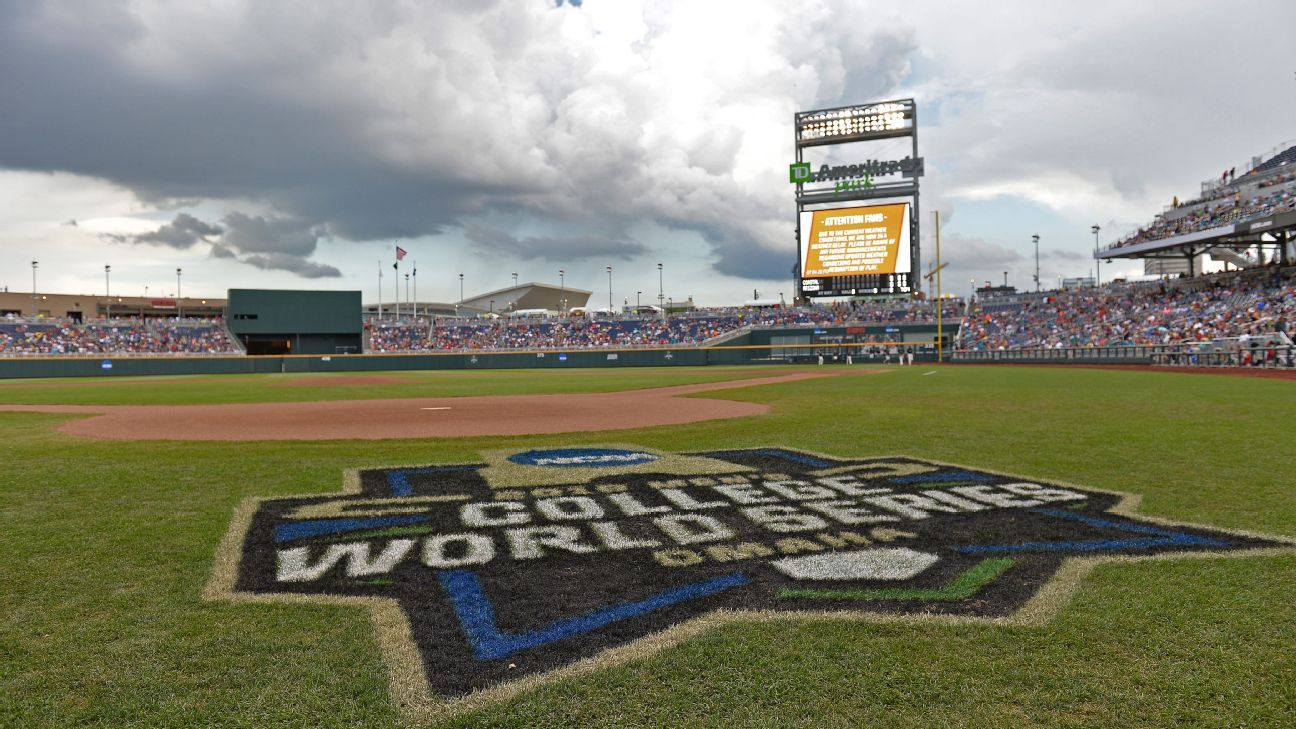 Td ameritrade park expands security measures ahead of college world series for Garden city community college baseball