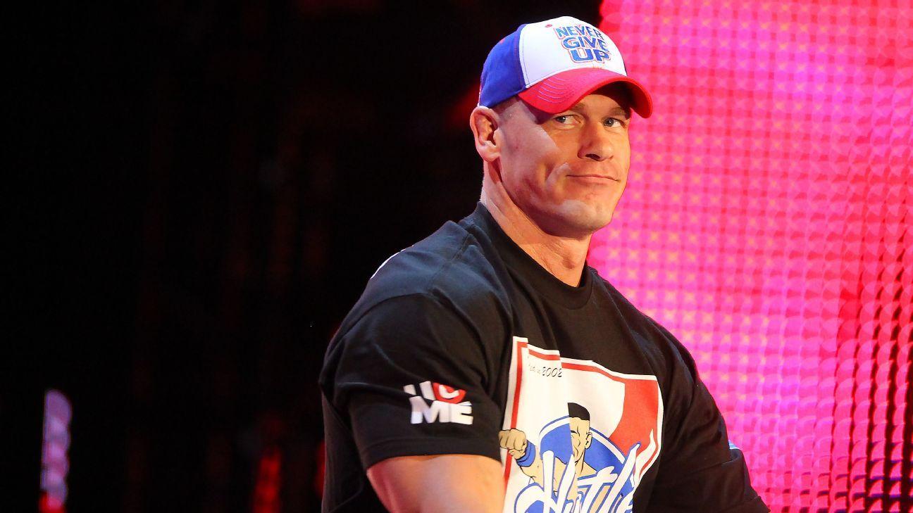 WWE Profile Page - John Cena