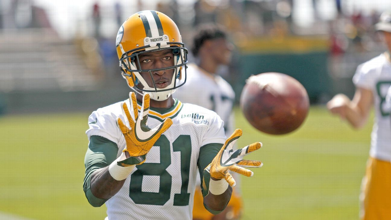 Green Bay Packers Geronimo Allison faces marijuana charges