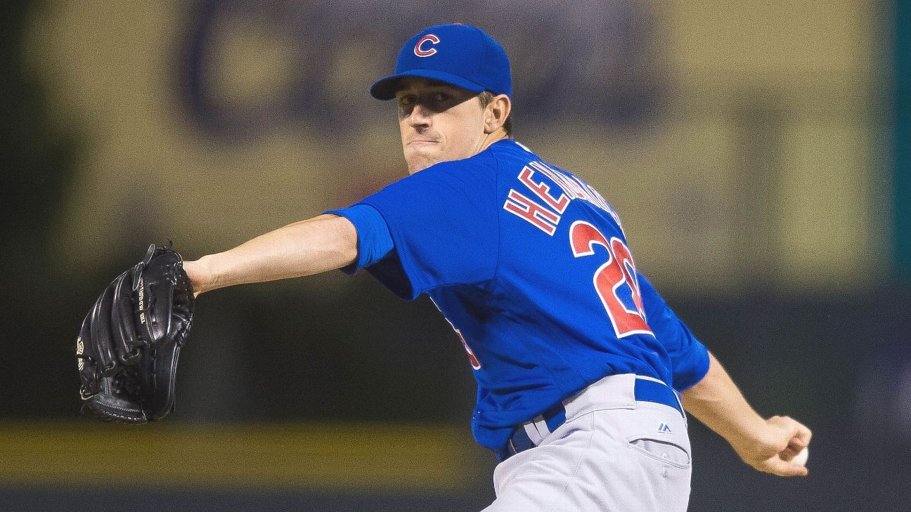 Roots of Kyle Hendricks' success planted before time with Chicago Cubs - Chicago Cubs Blog- ESPN