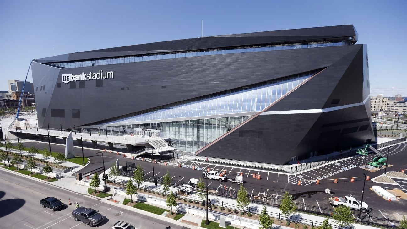 Minnesota Vikings US Bank Stadium Will Elicit Oohs And Aahs - Us bank stadium concourse map