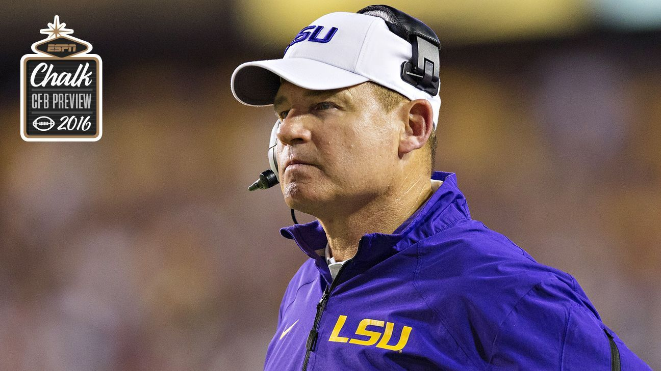 LSU Tigers season outlook, title odds and season win total predictions - College football