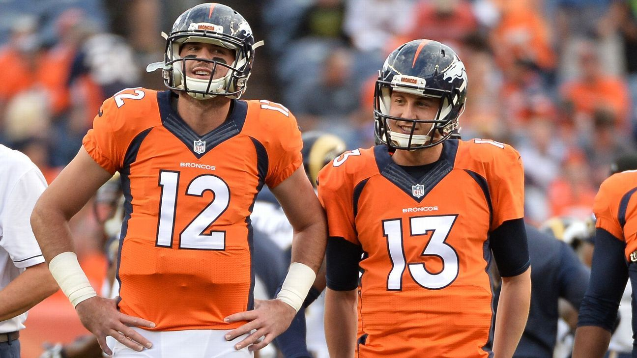 Image result for trevor siemian and paxton lynch