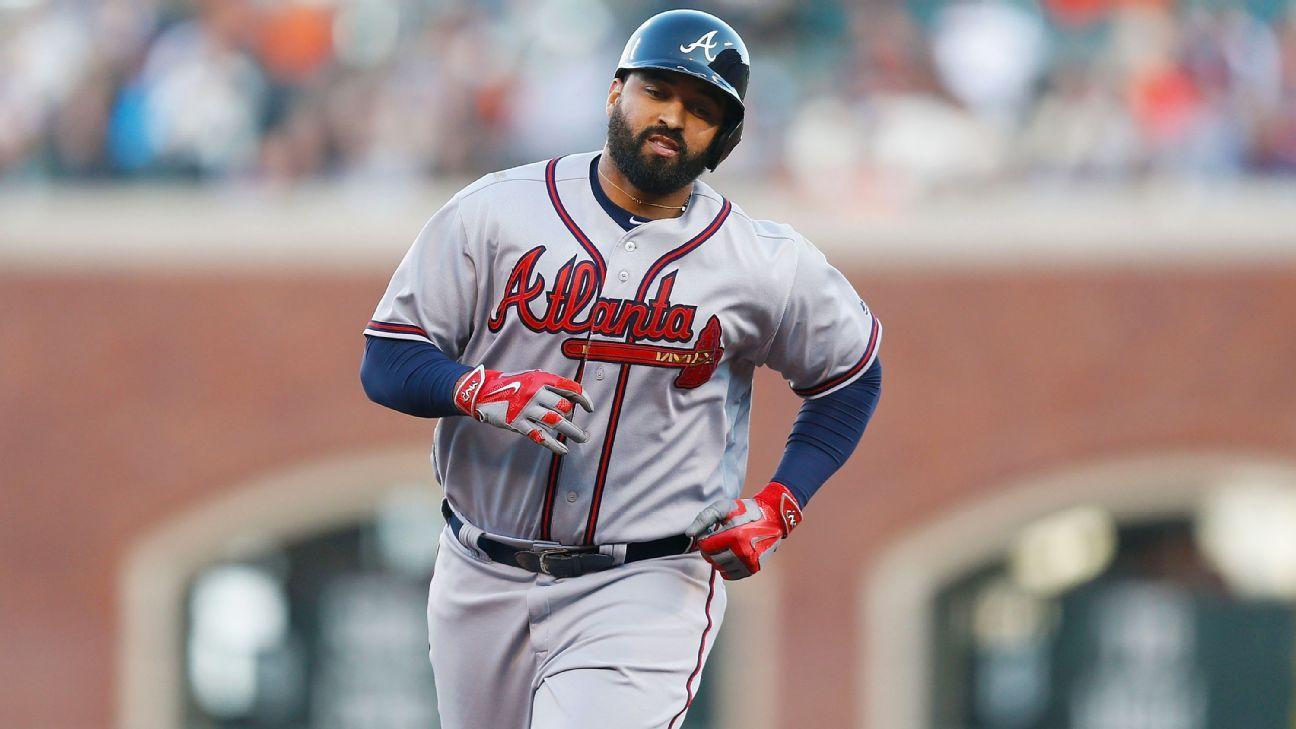 Braves LF Kemp eager to return to lineup