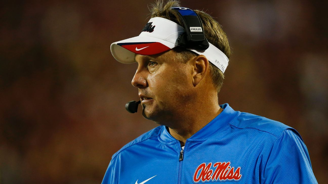 Ole Miss' Freeze quits; escort-service calls cited