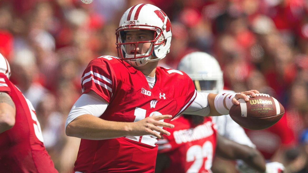 Wisconsin lefty QB Alex Hornibrook