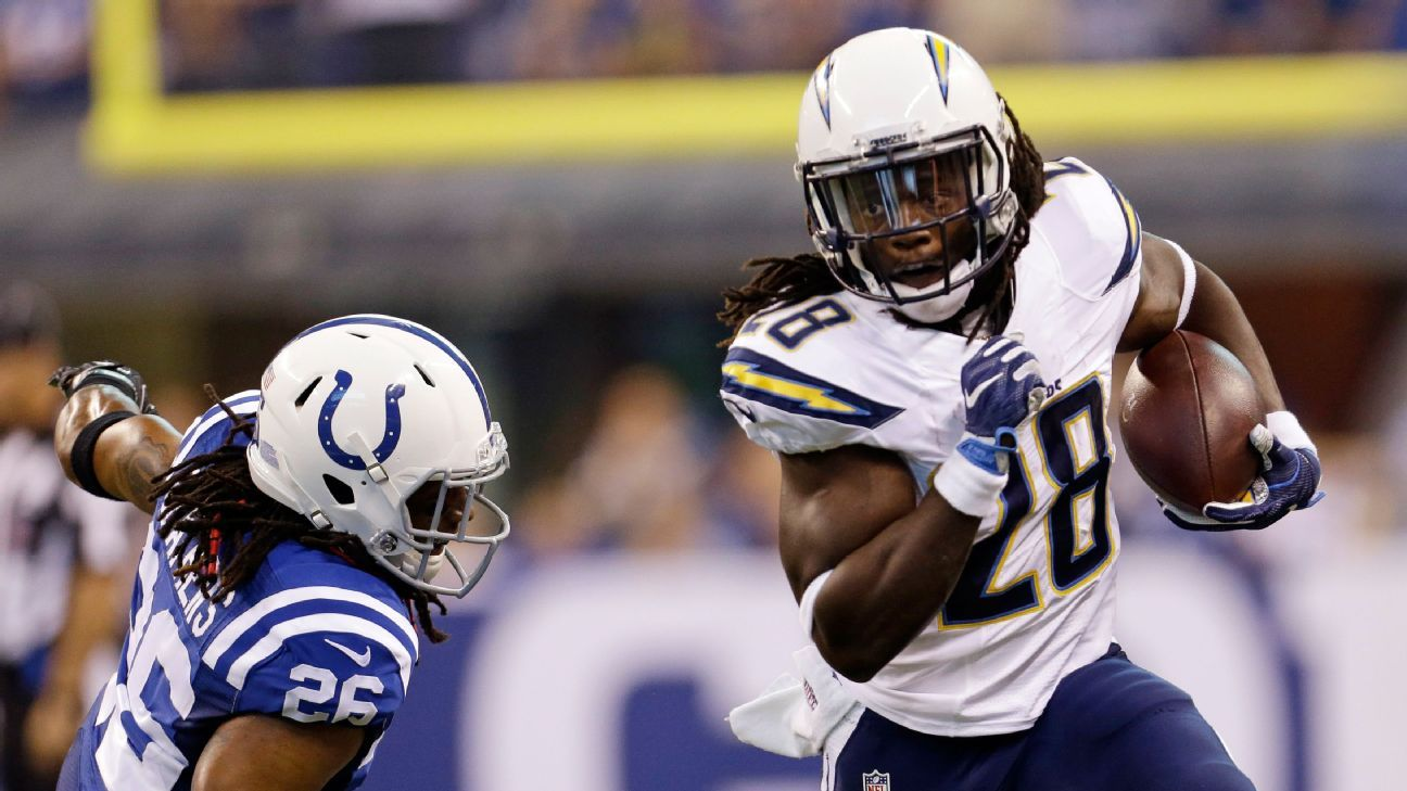 Melvin Gordon San Diego Chargers Offense Sputter In Loss