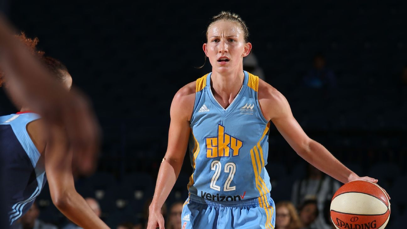 Team effort carries Chicago Sky into WNBA semifinals