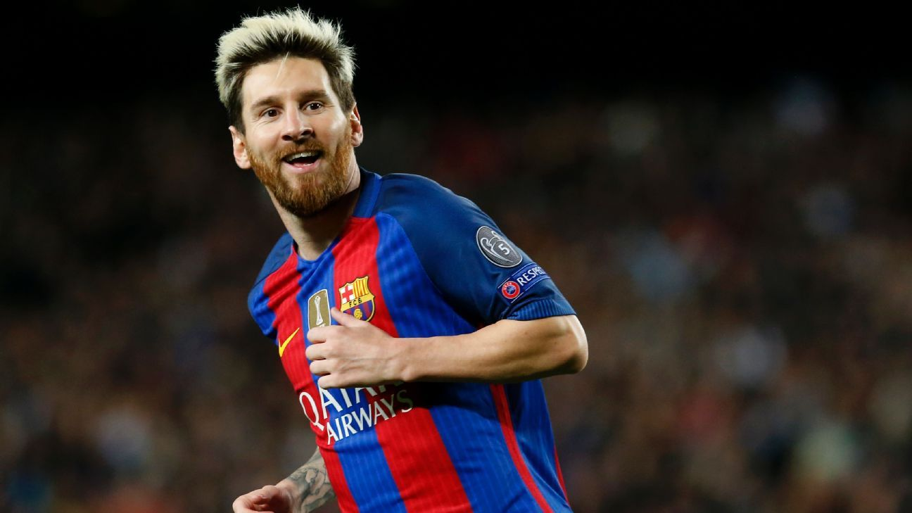 Lionel Messi playing like a midfielder for Barcelona Denis Suarez
