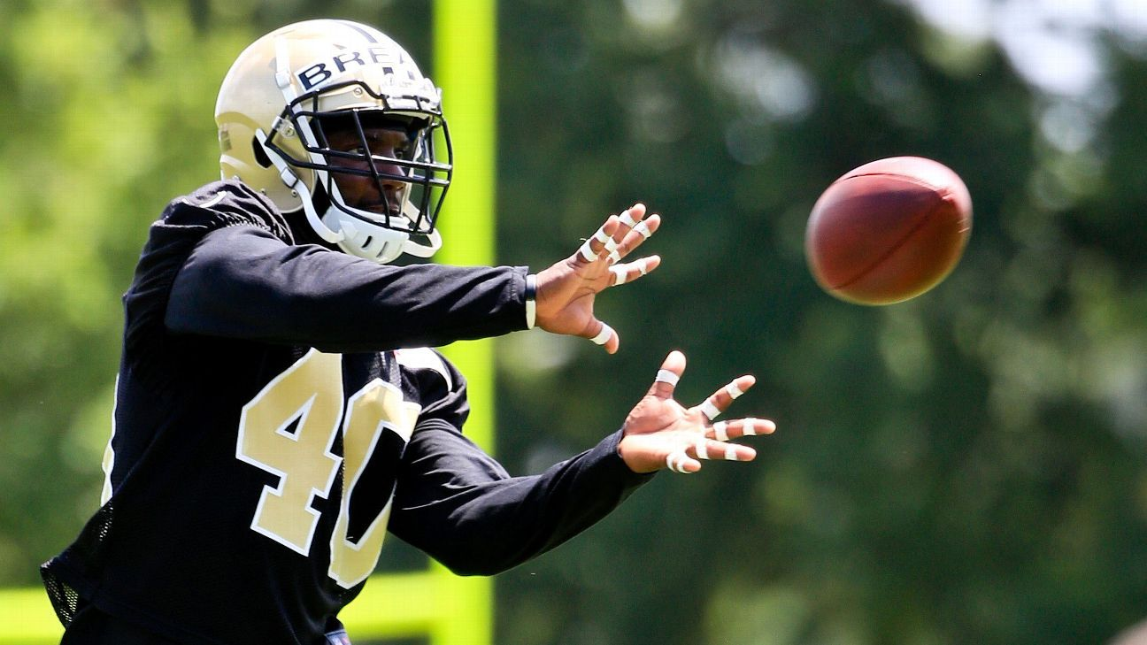 Saints place Delvin Breaux on injured reserve could return