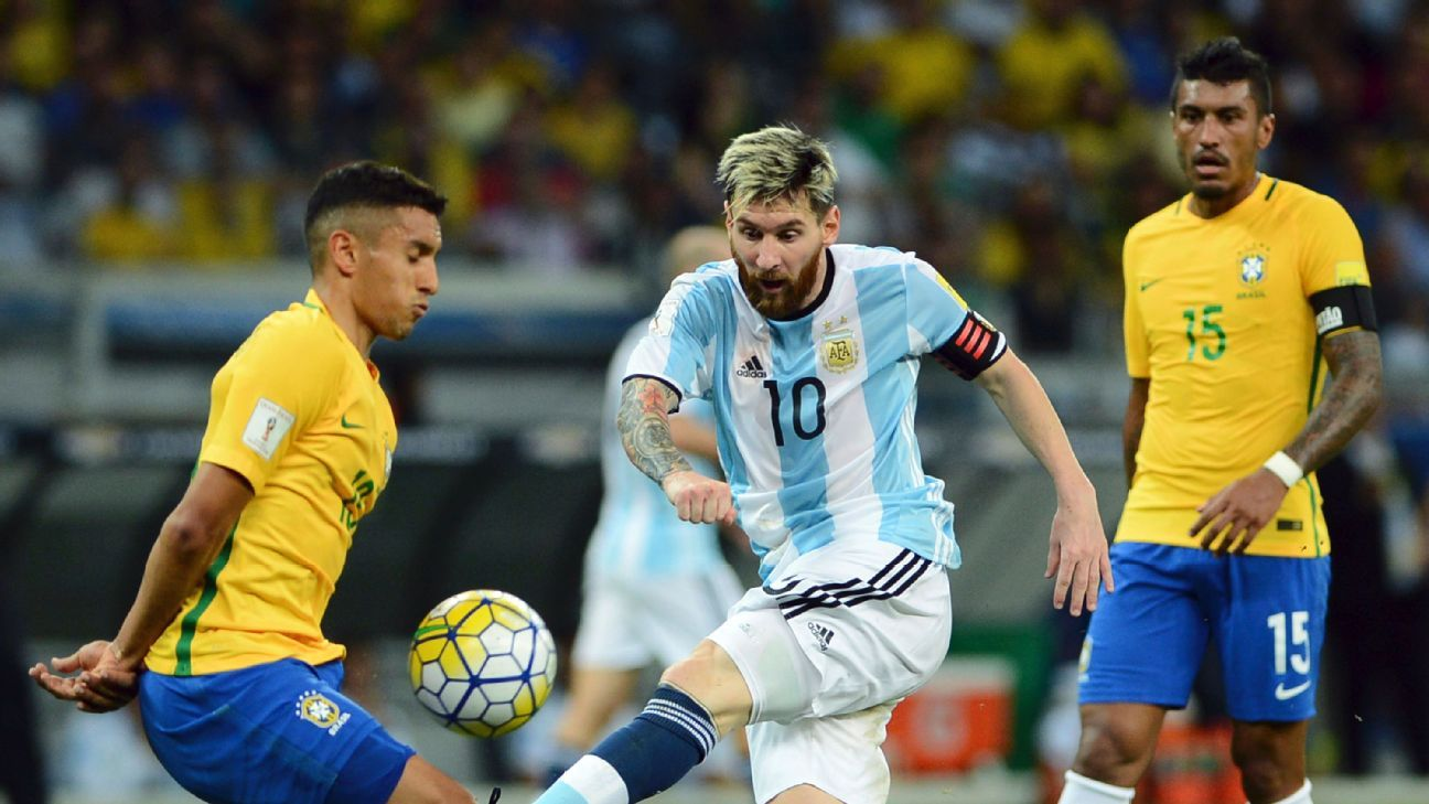 Brazil s Marquinhos Argentina s Lionel Messi is the best player in