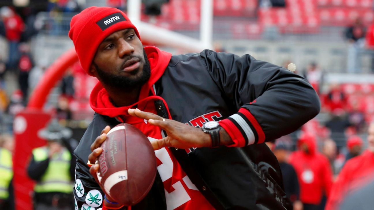 421e2513feb5 Ohio State Buckeyes to wear LeBron James cleats against Oklahoma ...