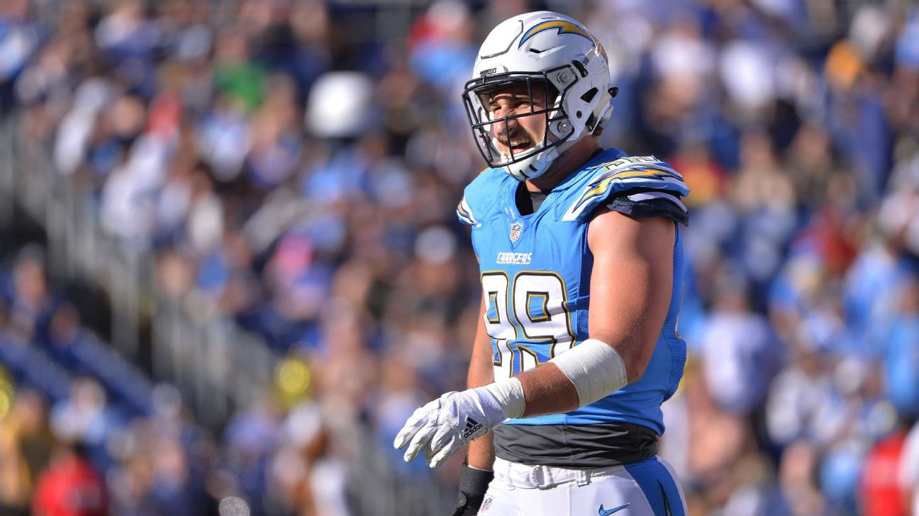 Joey Bosa Reports To Los Angeles Chargers Workouts