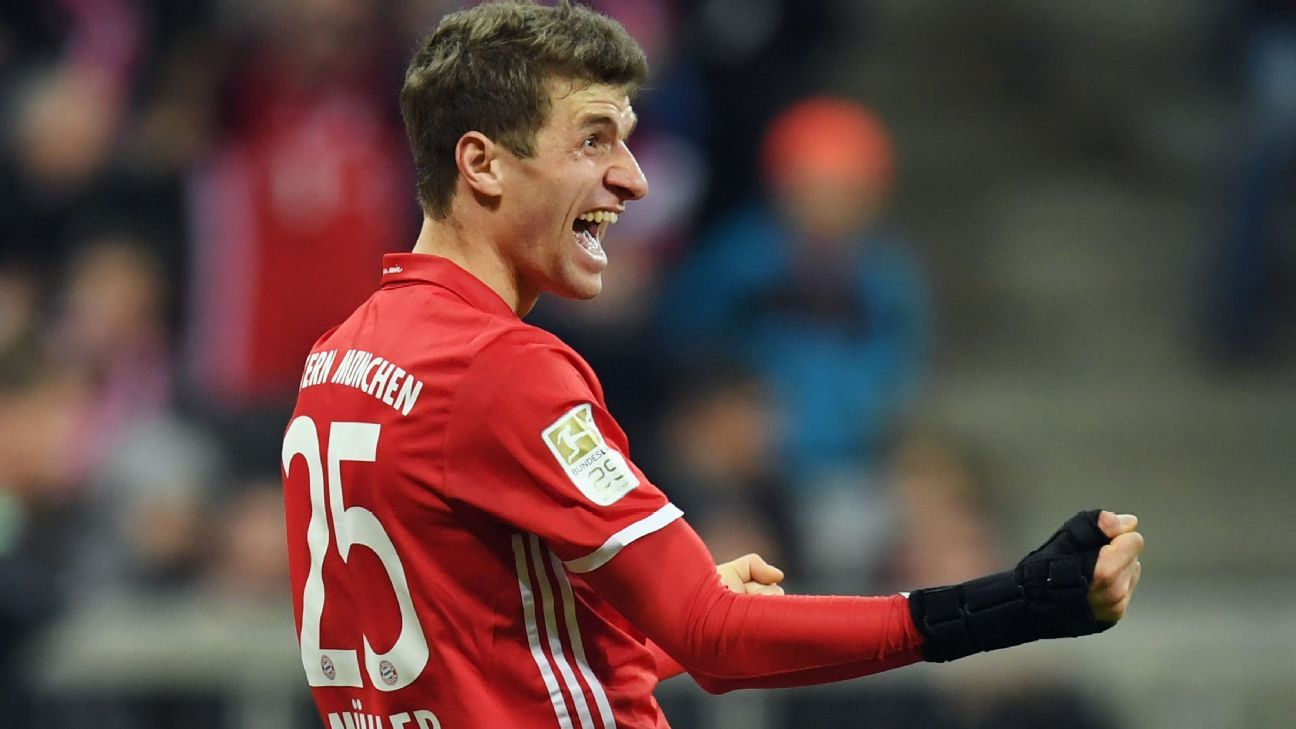 Thomas Muller Finally Ends Bayern Drought In Stroll Past Wolfsburg