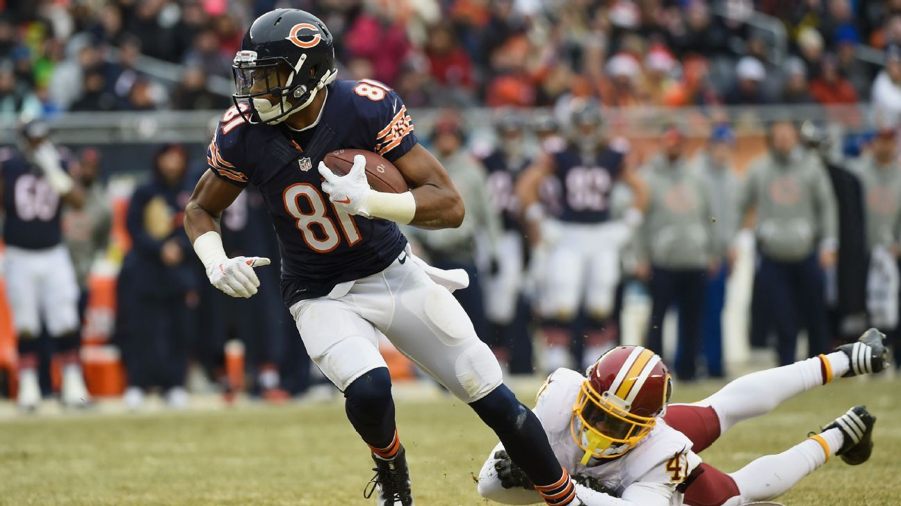 Cameron Meredith, who led the Bears in receptions and receiving yards in 2016, has signed a two-year, $10 million offer sheet with the Saints, a source told ESPN.