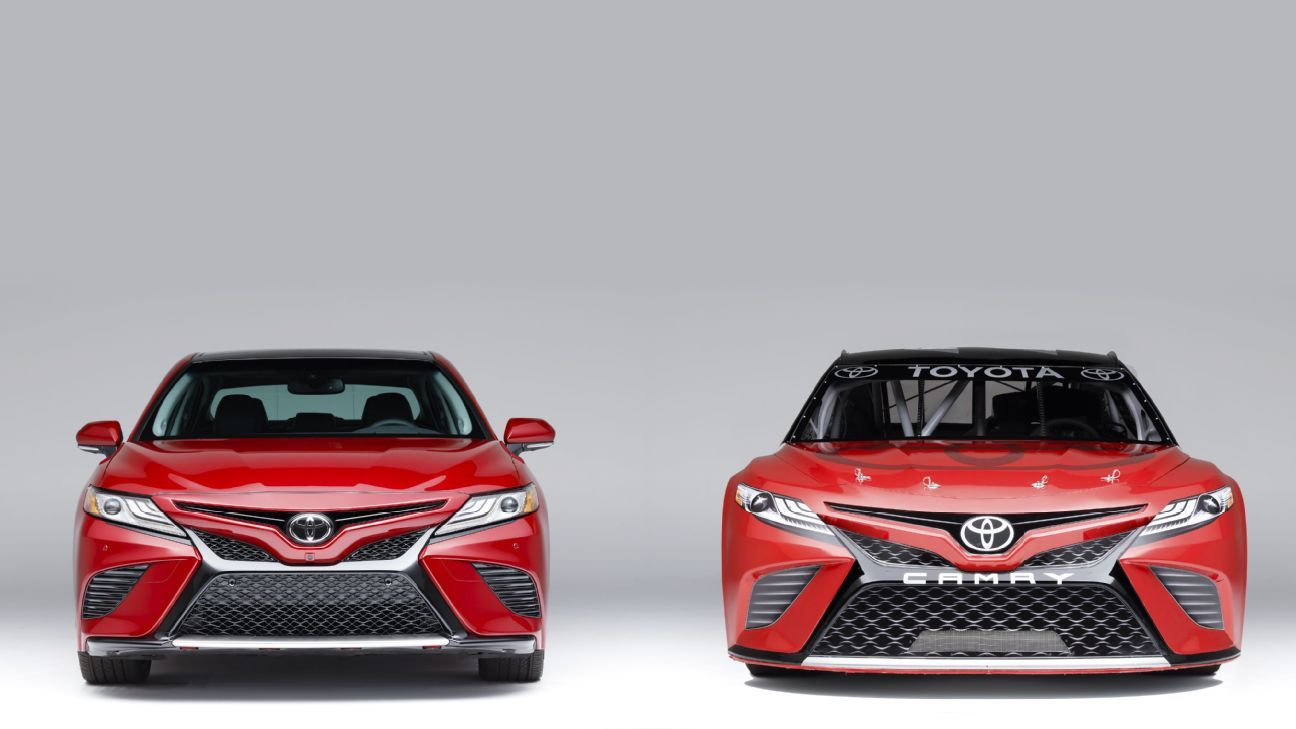 With new Camry on the way, Toyota gets jump on Cup car