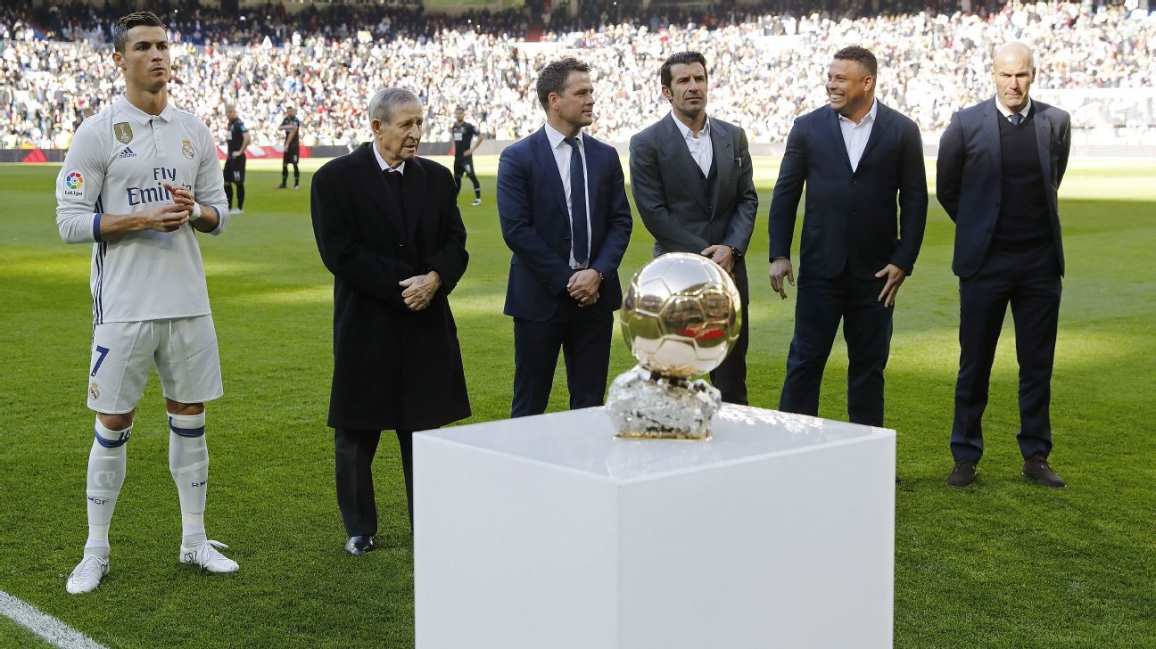 Real Madrid s Cristiano Ronaldo can win Ballon d again