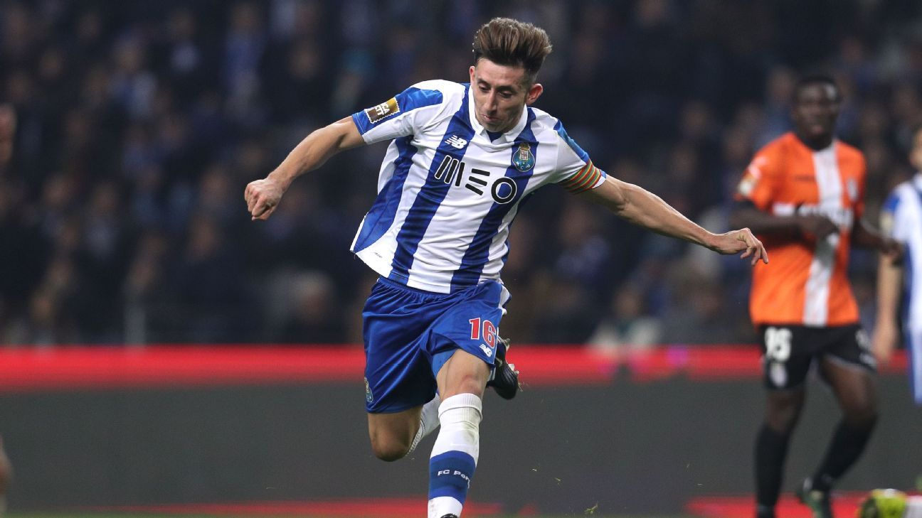 Mexicans in Europe Hector Herrera beginning to find form in Porto