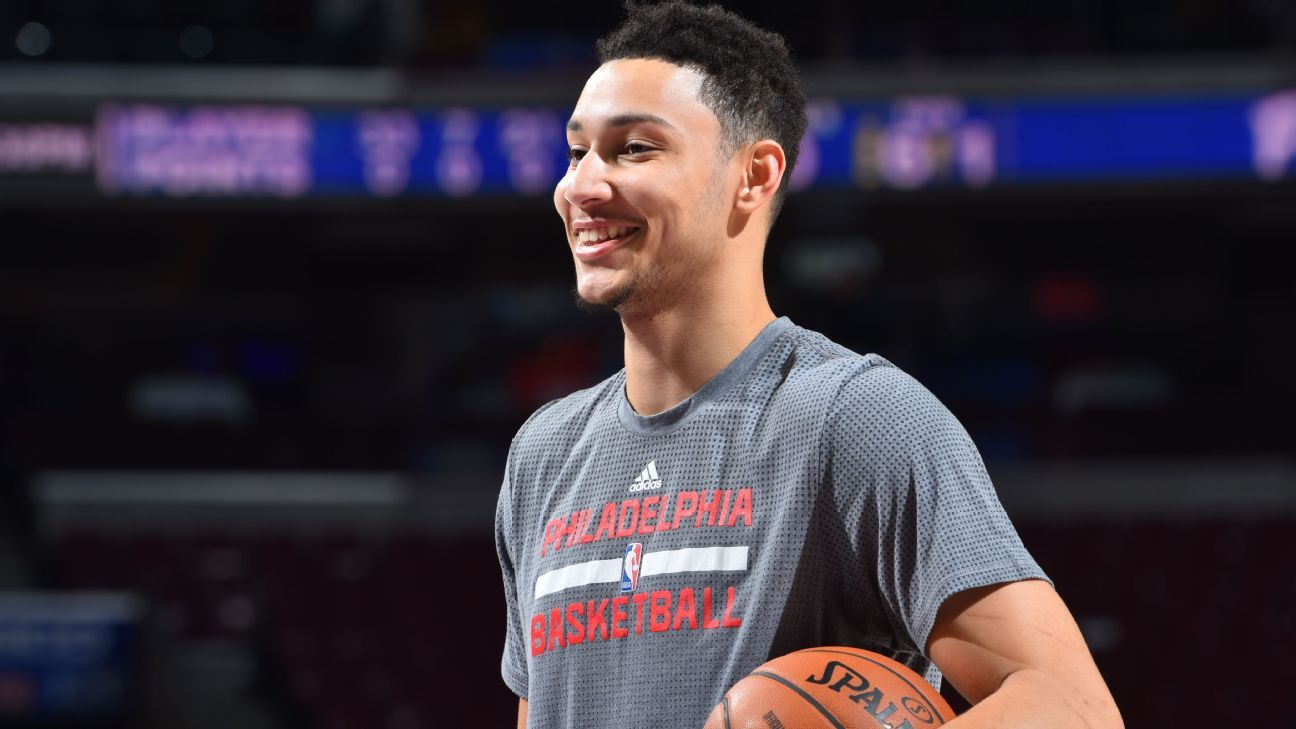 Ben Simmons of Philadelphia 76ers won't play this season after tests reveal injured foot not ...