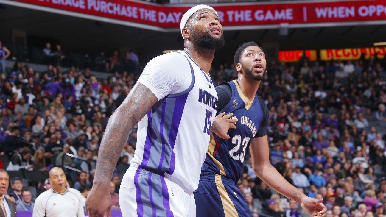 Sacramento Kings agree to deal DeMarcus Cousins to New Orleans Pelicans