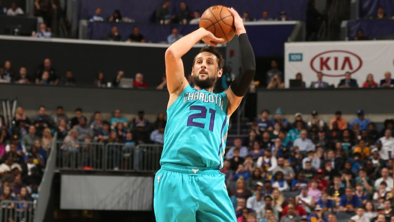 charlotte hornets marco belinelli offers advice to kemba