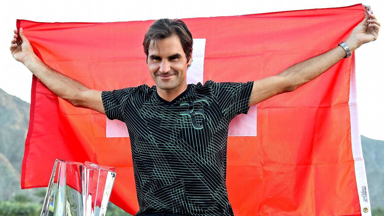 Believe it or not, this might be just the start for Roger Federer