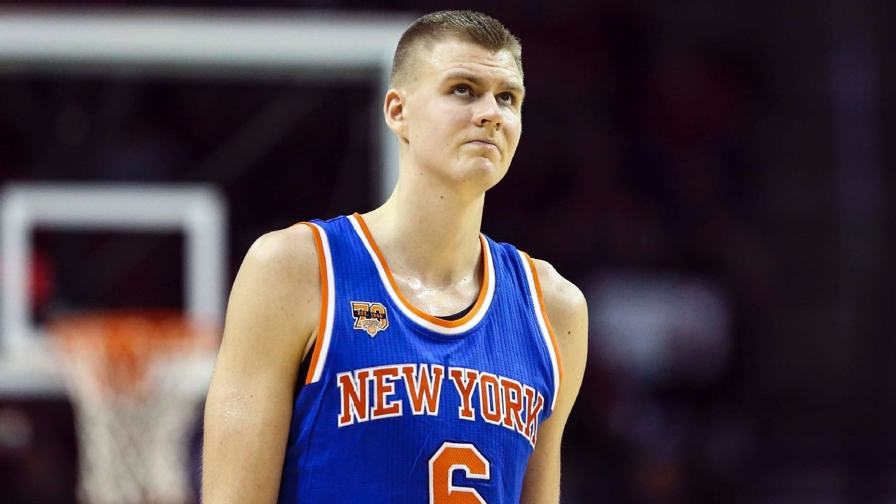 Frustrated Kristaps Porzingis skips exit meetings with New ...