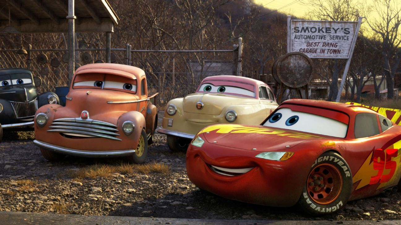 New 'Cars 3' characters inspired by NASCAR legends
