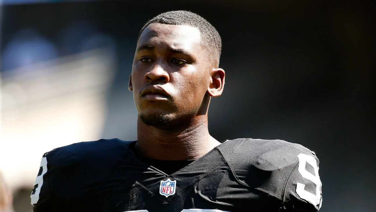 Former 49ers and Raiders player Aldon Smith, who's had numerous run-ins with the law, was arrested again for violating a court order to stay away from a woman who said he assaulted her earlier this month, according to a report.